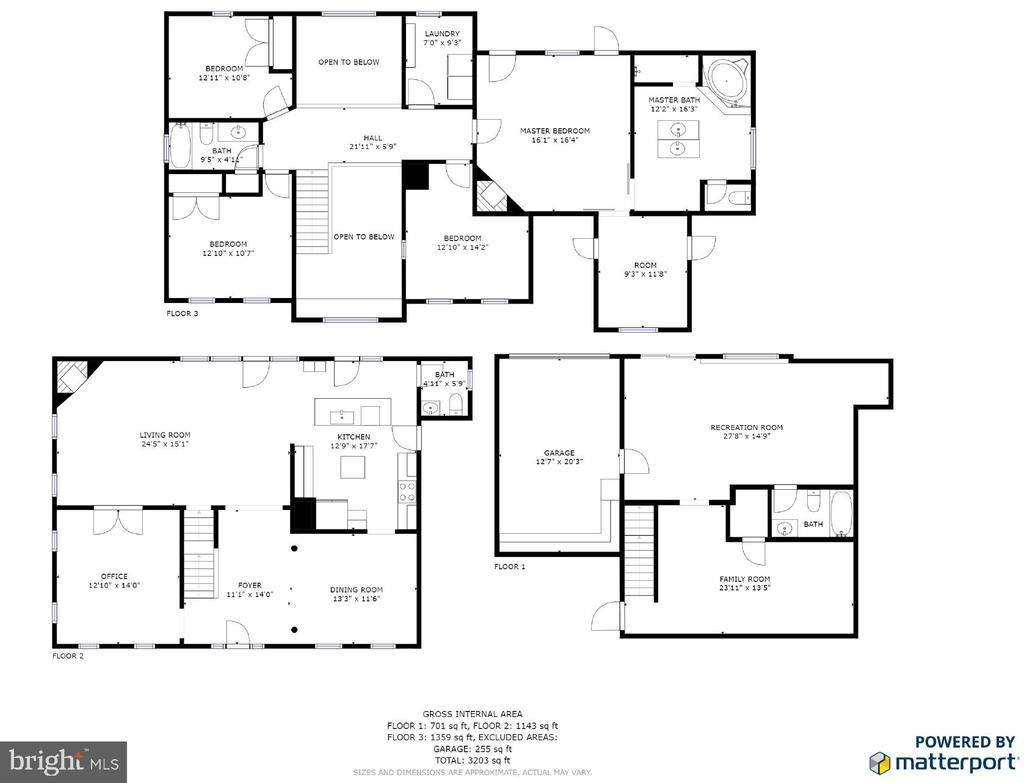 Floor plans - 36 BETHANY WAY, FREDERICKSBURG