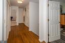 Landing Hardwood floors on upper level. - 20659 FURR RD, ROUND HILL