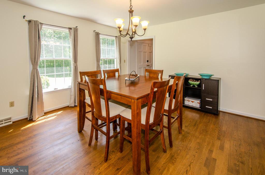 Spacious Dining Room for gatherings - 20659 FURR RD, ROUND HILL