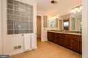 Spa like Master Bathroom - 20659 FURR RD, ROUND HILL