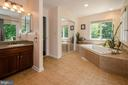 Extremely spacious Master Bath - 20659 FURR RD, ROUND HILL