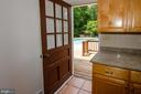 Door in kitchen leads to pool - 20659 FURR RD, ROUND HILL