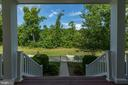 View from lower front porch - 25273 DOOLITTLE LN, CHANTILLY