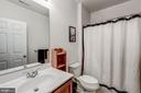 Full Bath in Finished Basement - 25273 DOOLITTLE LN, CHANTILLY
