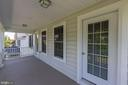 Upper front porch - 25273 DOOLITTLE LN, CHANTILLY