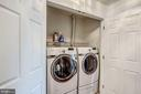 Laundry with Front load washer / dryer / - 25273 DOOLITTLE LN, CHANTILLY
