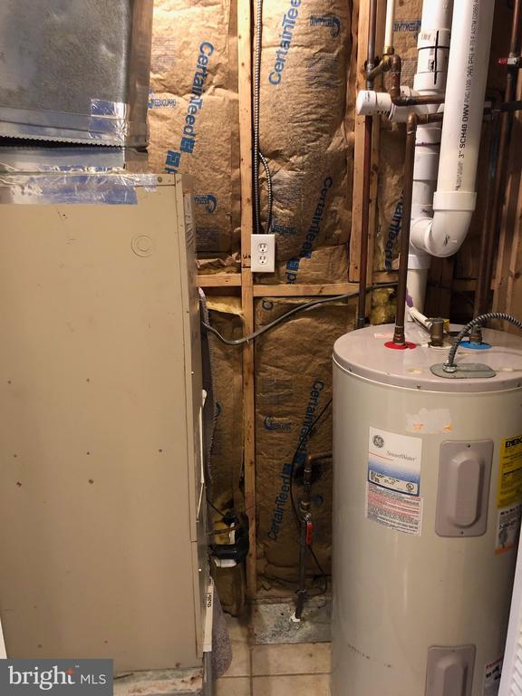 Hot water heater and furnace room - 4402 KANE PL NE, WASHINGTON