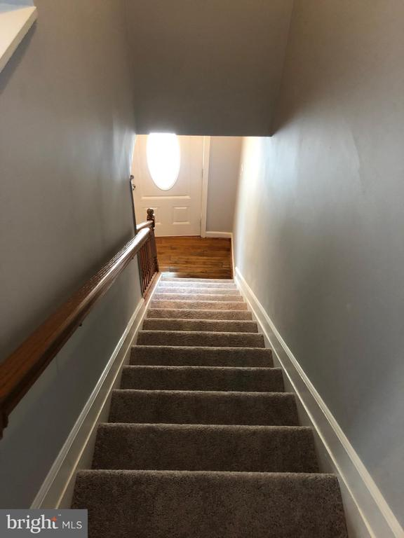 View of steps leading to first floor - 4402 KANE PL NE, WASHINGTON
