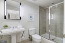 Master bathroom - 2301 CHAMPLAIN ST NW #305, WASHINGTON
