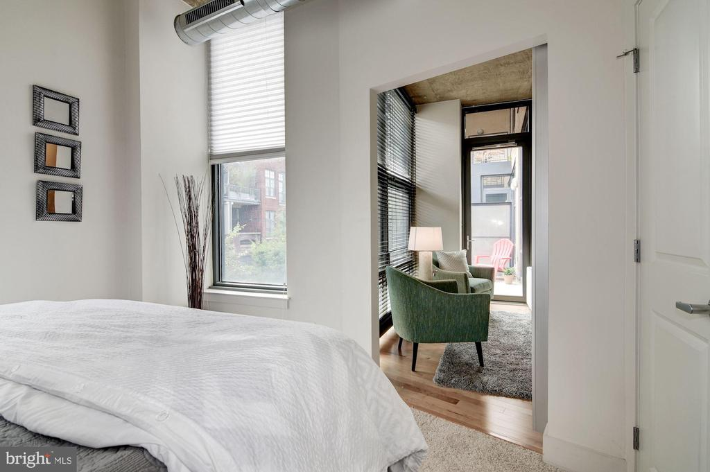Second bedroom to living room - 2301 CHAMPLAIN ST NW #305, WASHINGTON