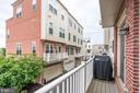 Grilling balcony with gas hook-up - 800 3RD ST SE, WASHINGTON