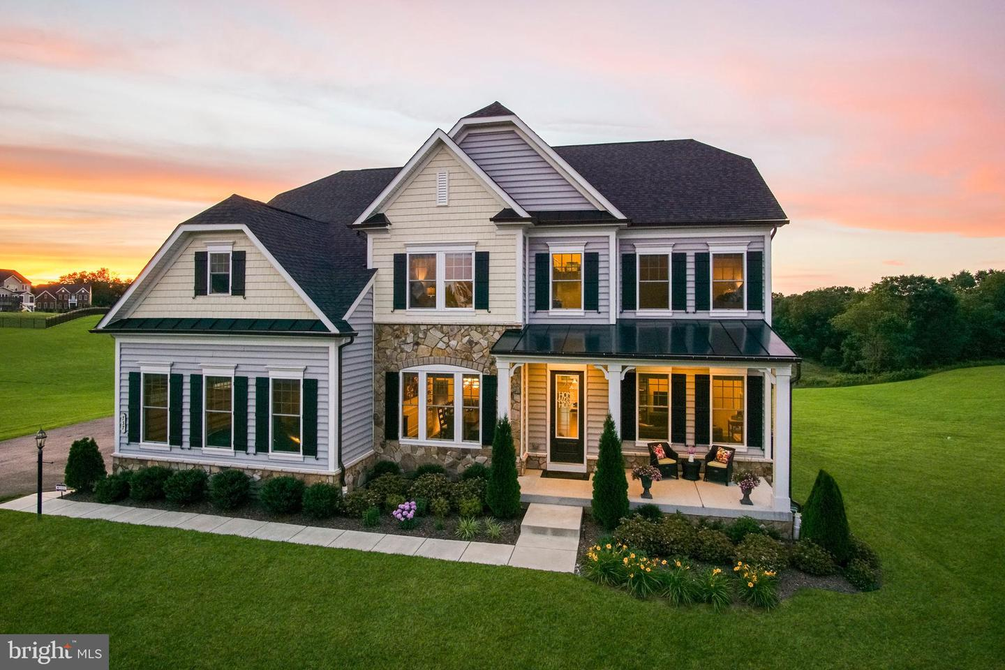 Single Family Homes pour l Vente à Eldersburg, Maryland 21784 États-Unis