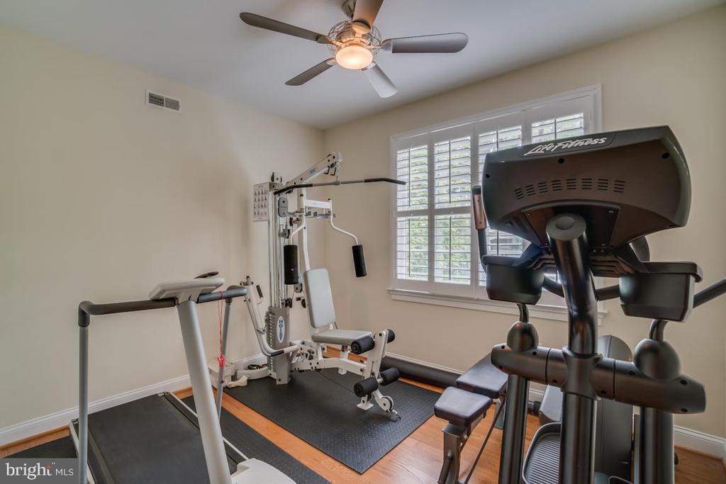 Master Closet Used as Gym - 5623 JOHNSON AVE, BETHESDA
