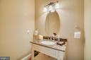 Half Bathroom on Main Level - 5623 JOHNSON AVE, BETHESDA