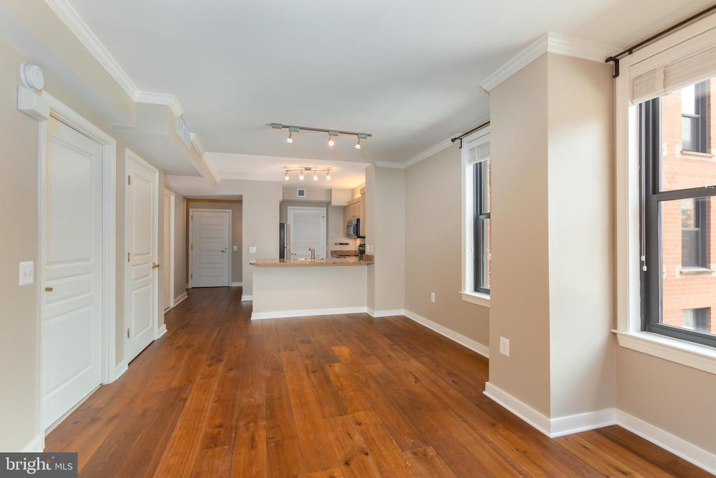 Corner unit with west and north light - 631 D ST NW #835, WASHINGTON
