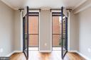 Balcony doors - 631 D ST NW #835, WASHINGTON
