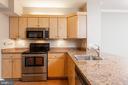 Kitchen with granite - 631 D ST NW #835, WASHINGTON