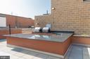 Rooftop outdoor kitchen - 631 D ST NW #835, WASHINGTON