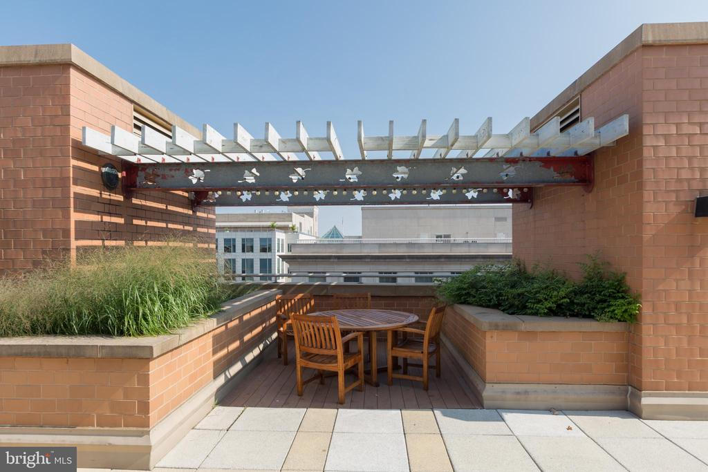 Rooftop deck - 631 D ST NW #835, WASHINGTON