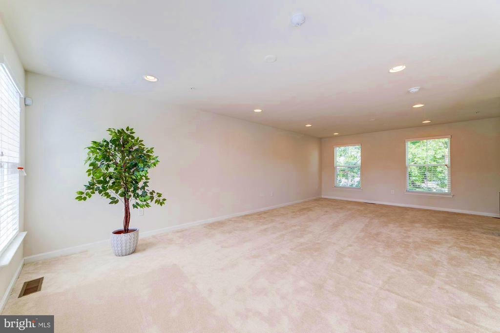 Family/Recreation Room on Upper Level with Rooftop - 3965 OAK ST, FAIRFAX