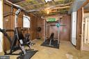 Workout area - 104 COUNTRY CLUB DR SW, LEESBURG