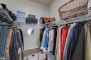 Walk-In Master Closet - 127 ANTHEM AVE, HERNDON