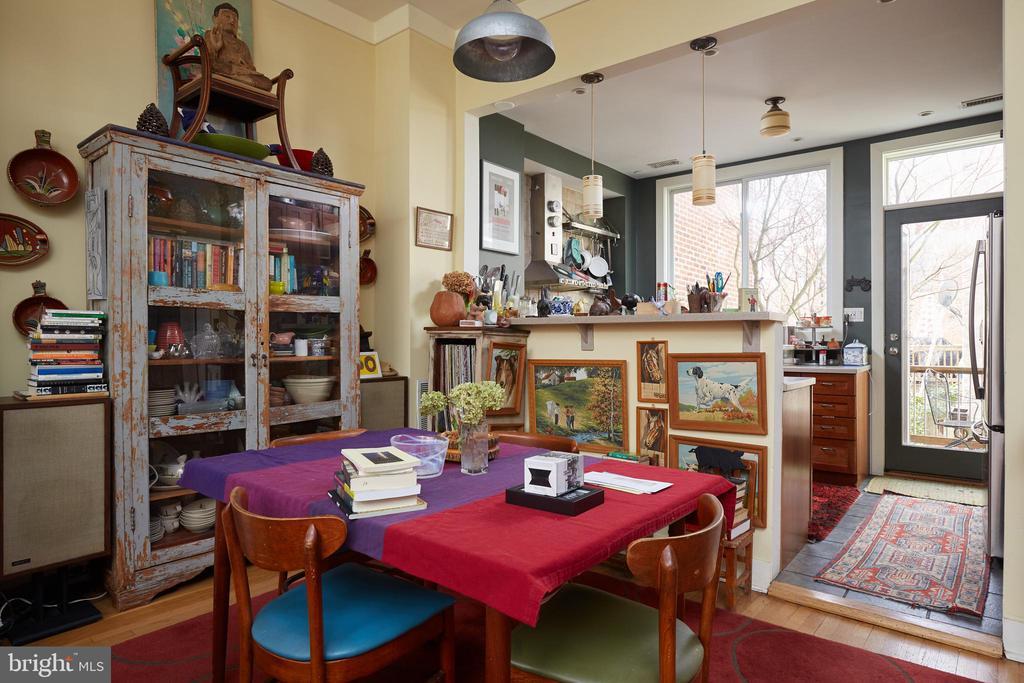 Dining Room - 1844 13TH ST NW, WASHINGTON