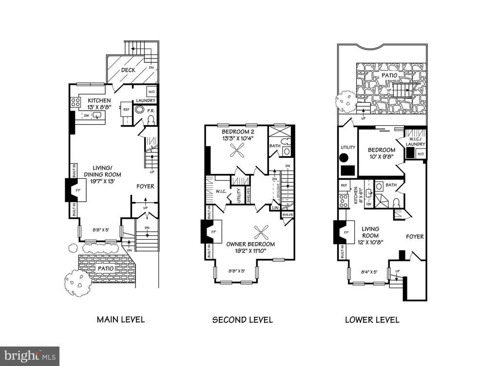 Floor Plan - 1844 13TH ST NW, WASHINGTON