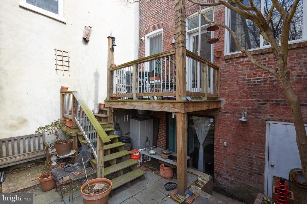 Deck - 1844 13TH ST NW, WASHINGTON
