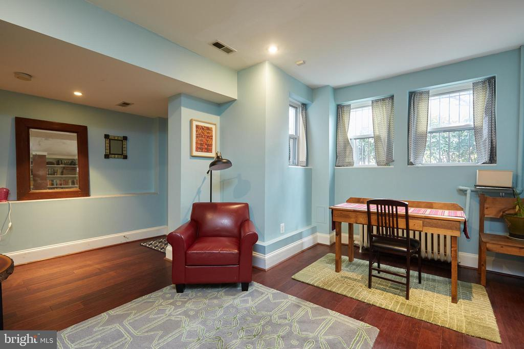 Lower Level Apartment Dining Room - 1844 13TH ST NW, WASHINGTON