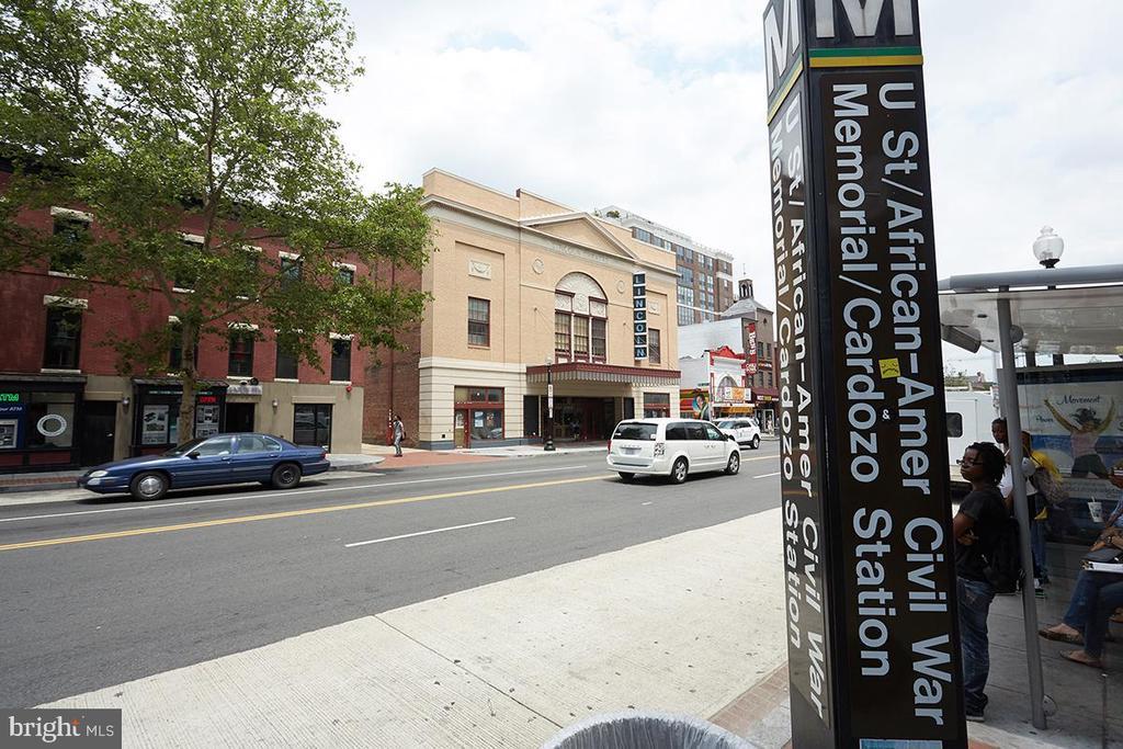 U St Metro (Yellow / Green Line) - 1844 13TH ST NW, WASHINGTON