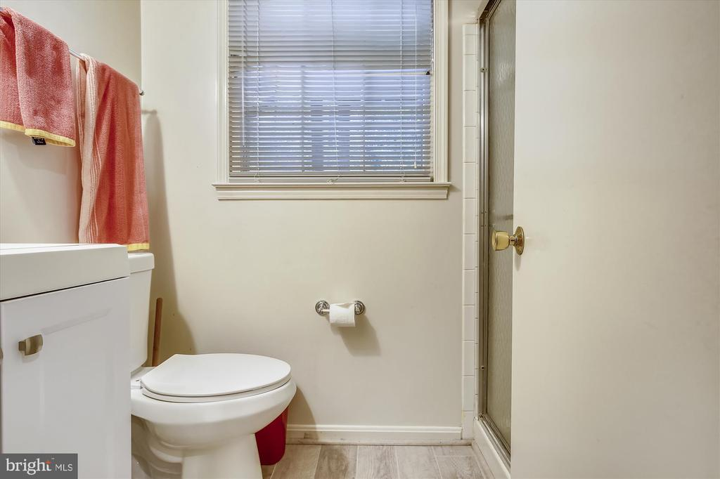 LOWER LEVEL BATH - 7209 BRIARCLIFF DR, SPRINGFIELD