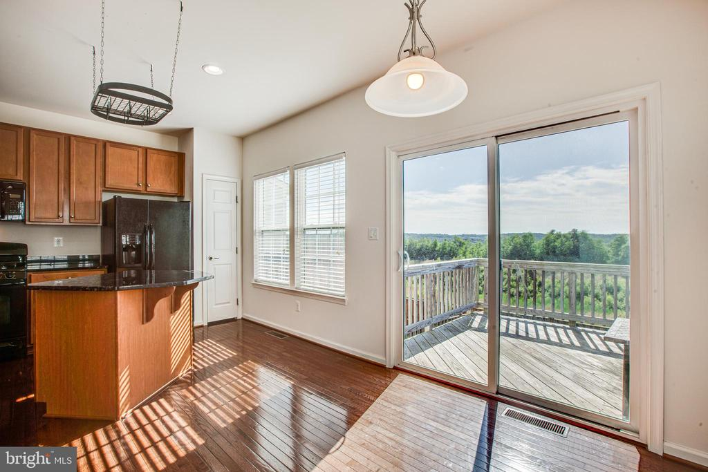 Kitchen with a view! - 110 SHORT BRANCH RD, STAFFORD