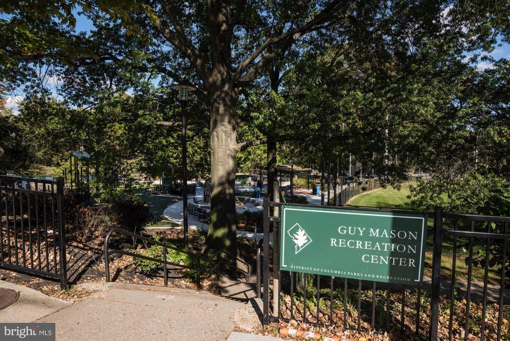 Guy Mason Recreation Center - 4114 DAVIS PL NW #4, WASHINGTON