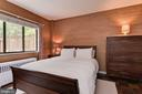 Bedroom with windows overlooking patio - 4114 DAVIS PL NW #4, WASHINGTON