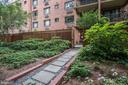 Walkway to private entrance to patio - 4114 DAVIS PL NW #4, WASHINGTON