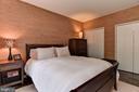 Bedroom features two double closets - 4114 DAVIS PL NW #4, WASHINGTON