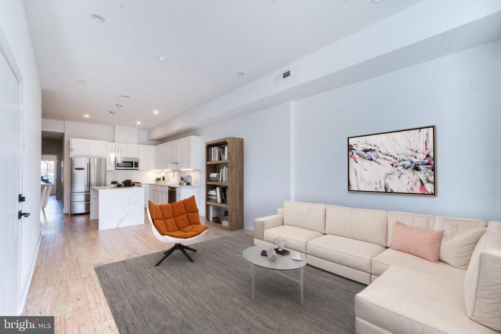 Open Floor Plan - 3819 14TH ST NW #UNIT 1, WASHINGTON