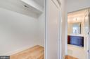 Large Walk In Closet - 3819 14TH ST NW #UNIT 1, WASHINGTON