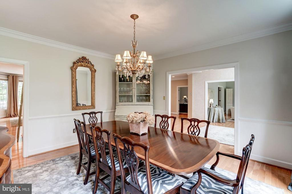 Dining Room - 12215 JONATHONS GLEN WAY, HERNDON