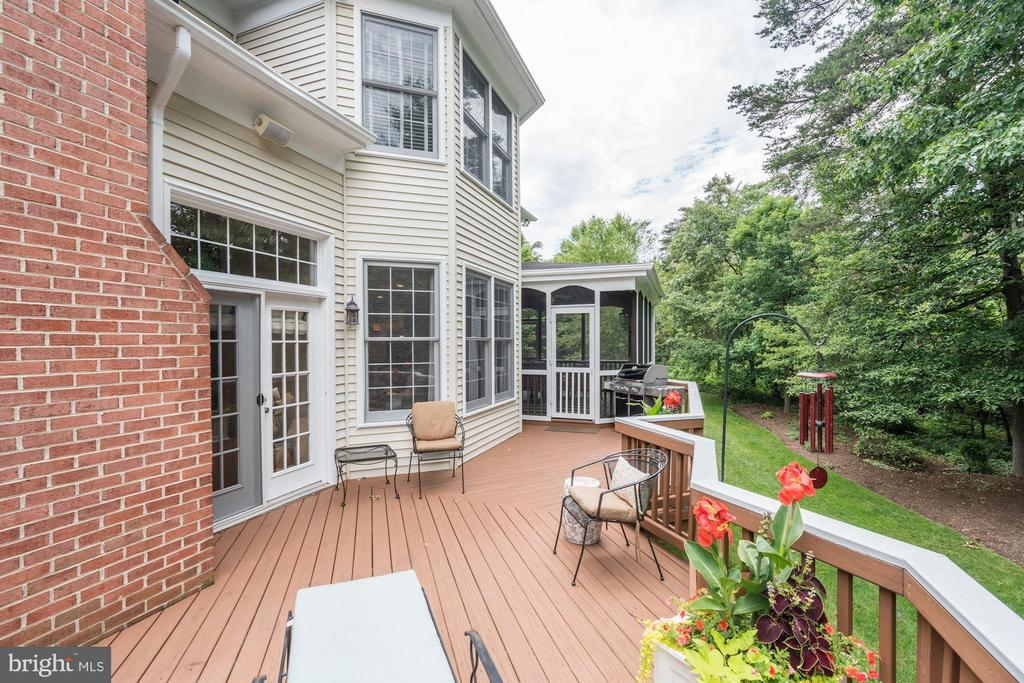 Deck - 12215 JONATHONS GLEN WAY, HERNDON