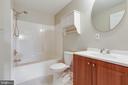 FULL BATHROOM IN LOWER LEVEL - 2402 SHAKER LN, FREDERICK