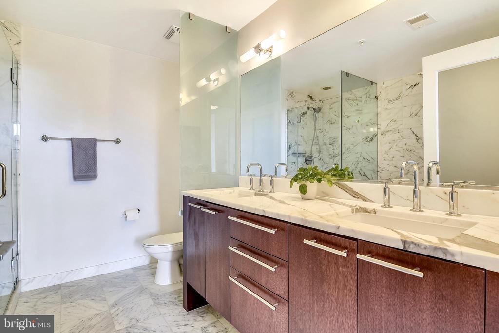 STUNNING master bathroom - 2001 15TH ST N #1410, ARLINGTON