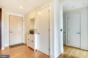 Inviting entryway with coat closet - 2001 15TH ST N #1410, ARLINGTON