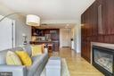 Accented with built-in entertainment cabinet - 2001 15TH ST N #1410, ARLINGTON