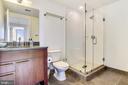 2nd full bathroom w/ new quartz vanity top - 2001 15TH ST N #1410, ARLINGTON