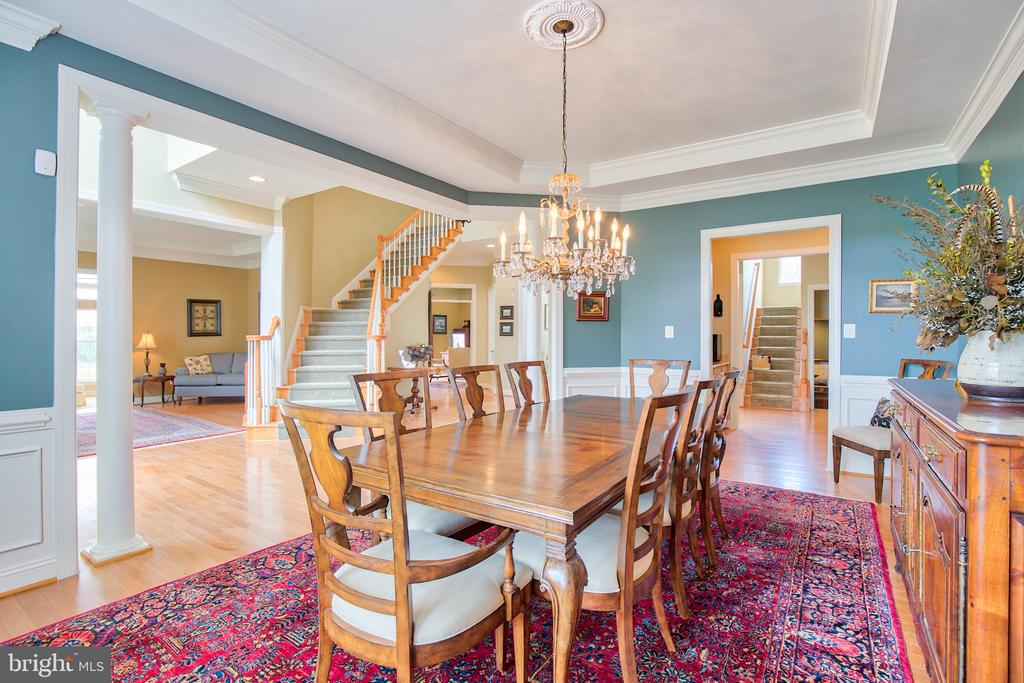 Formal Dining - 6853 MILL VALLEY DR, WARRENTON