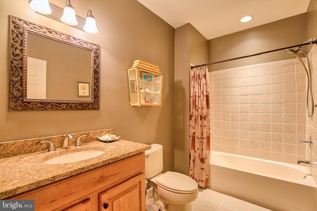 Lower Level Bath - 6853 MILL VALLEY DR, WARRENTON