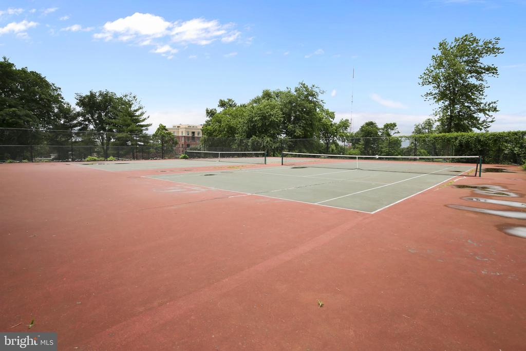 Neighborhood tennis courts - 4101 ALBEMARLE ST NW #503, WASHINGTON