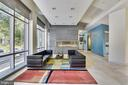 Chic lobby with fireplace - 4101 ALBEMARLE ST NW #503, WASHINGTON